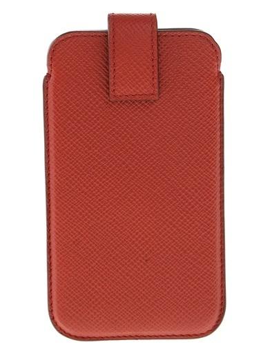 Smythson Cep Telefonu Kılıfı Kırmızı